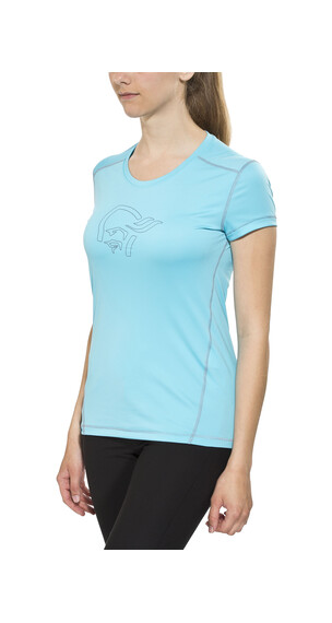 Norrøna /29 tech T-Shirt Women Cyantastic